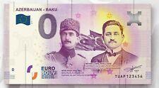 0 Euro Souvenir - AZERBAIJAN - BAKU - TUAP - 0 euro - SPECIAL EDITION !!!