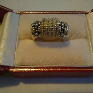 💍 Michael Dawkins size 6 band ring with czs unique