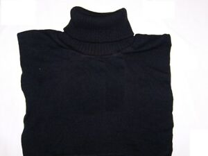 DICKEYS TURTLE NECK COVER NECK BLACK POLY FOR POLICE SECURITY 1 Size Fits All