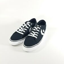 Converse All Star Replay Ox Shoes Sneakers Low Black White Mens Size 9