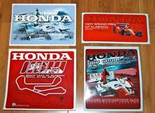 2015 Honda Indy Grand Prix Of Alabama Barber Indy Car Decal Sticker Set