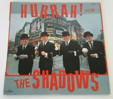 """THE SHADOWS    """"HURRAH FOR THE SHADOWS""""      FRENCH  LP"""