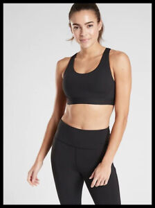 Athleta NWT Women's Ultimate Bra in SuperSonic A-C Size Med /Black