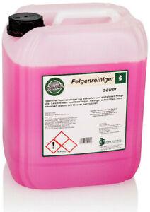 Felgenreiniger sauer Konzentrat PROFI 10 Liter Gloyers Original