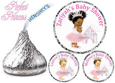 216 LITTLE PRINCESS BABY SHOWER FAVORS HERSHEY KISS KISSES LABELS