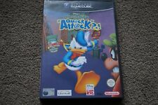 Donald Duck quack attack Nintendo Gamecube game 100% Complete
