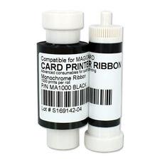 MA1000K Black Ribbon for Magicard Pronto Enduro3E Rio Pro Printer 1000 prints