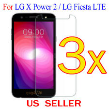 3x Clear LCD Screen Protector Guard Cover Film For LG X Power 2 / LG Fiesta LTE