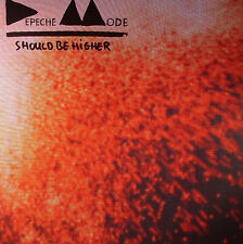 VINYLE MAXI 12'' DEPECHE MODE SHOULD BE HIGHER REMIXES INEDITS NEUF SOUS BLISTER