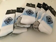Strideline Major League Soccer Vancouver Whitecaps FC Football Club Socks NEW!!!