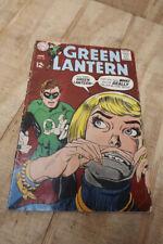 Silver Age DC Comics Green Lantern #69 Fair to Good Condition