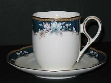 Noritake Sandhurst FLAT COFFEE CUP/SAUCER SET Bone China 9742 Several Available
