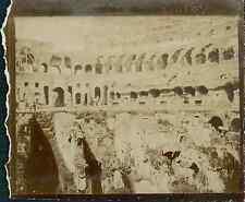 Italia, Roma. Interno del Colosseo   Vintage citrate print.  Tirage citrate