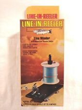 D LINE-IN-REELER WITH ADJUSTABLE TENSION DEVICE INCLUDES BOX, MADE IN THE USA