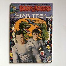 Vintage 70s Star Trek Book And Record Set