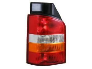 LHS Tail Light for VW Volkswagen Transporter T5 Van 04-09 Red Amber & Clear