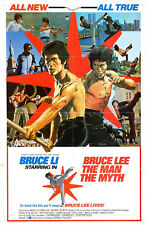BRUCE LEE THE MAN THE  MYTH SUPER 8 COLOUR SOUND 400FT CINE 8MM FILM