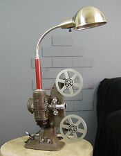 Vintage Steampunk Gooseneck Mid Century MCM Style Filmo Movie Projector Lamp