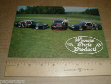 1988 Buick Regal 1986 Le Sabre Morgan Shepherd racing postcard Winners Circle