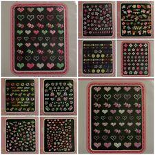 3D Nail ArtSticker 50 sheets stylish Various Shiny points Design Wholesale KOREA