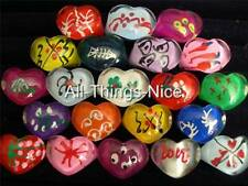 Party Gift Bag Filler Adult LUCITE HEART Mix Size Rings Fashion Jewellery 50