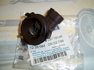 Socket Lampada Fari Anabbaglianti Astra-G H7 1226084 Nuovo Org Opel