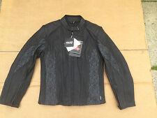 "RK SPORTS Ladies Leather Motorbike / Motorcycle Jacket UK12 (36"" Chest) (B5)"