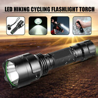 Elfeland 15000LM T6 LED Flashlight Tactical Torch 5Mode Lamp Camping 18650 Light