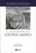 A Companion to Colonial America (Blackwell Companions to American History)