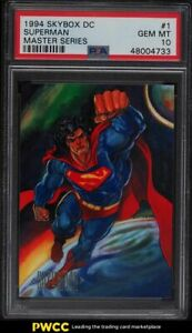 1994 Skybox DC Master Series Superman #1 PSA 10 GEM MINT