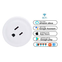 1 x Wifi Smart Plug Outlet Remote Control US Socket Work with Alexa Google Home