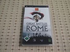 The History Channel Great Battles of Rome für Sony PSP *OVP*