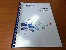 SAMSUNG GALAXY ACE PLUS GT-S7500 stampato manuale di istruzioni guida 158 pagine A5