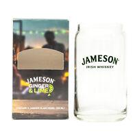 Branded Limited Edition Jameson Irish Whisky Glass Jar 350ml + Box Home Bar Pub
