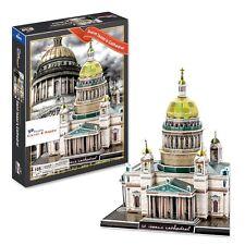 Saint Isaacs Cathedral 3D Puzzle. St. Petersburg Russia (105 pcs) New