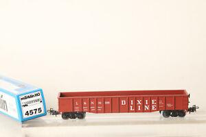 Märklin H0 4575 USA Gondola L & N Dixie Line Braun Boxed (186182)