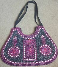 Fancy Shoulder Bag with Hand Embroidery