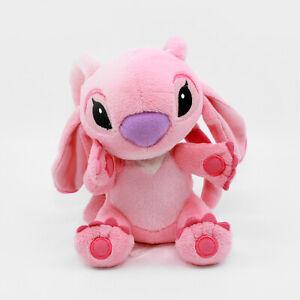 "ANGEL 6"" Plush - Disney Store - Lilo & Stitch - Pink Stuffed Alien"