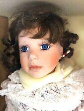 """American Artists KAIS Janis Berard Emily Valentine 27"""" Full Body Porcelain Doll"""