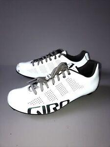 Giro Empire Reflective White Shoes EU 41.5 UK 6-7 Women Road Bike Sport Cycling