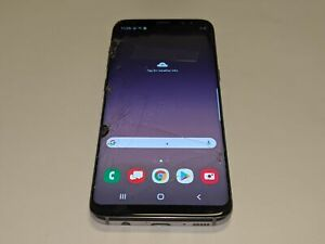 Samsung Galaxy S8 SM-G950U Verizon Wireless 64GB Smartphone/Cell Phone *Smashed*