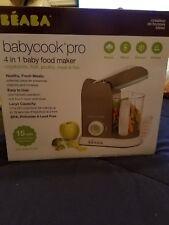 Beaba Babycook Pro | Cloud | 4-in-1 baby food maker | Steam Cooker & Blender