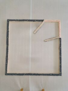Rug hooking frame / Punch needle frame 98 x 98 cms