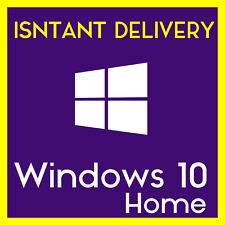 Windows 10 Home OEM Genuine Key  - 32/64 bit - Instant Delivery