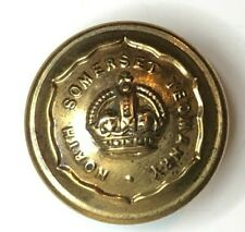 WW1 North Somerset Yeomanry Button 23 mm Special Quality backstamp