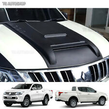 Matte Black Scoop Bonnet Vent Cover Mitsubishi L200 Triton Pickup 2015 2016 2017