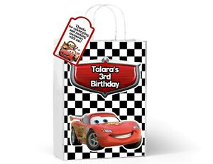 Cars Treat bags, party favors, birthday decorations, lightning mcqueen