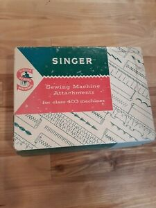 Singer Sewing Machine Attachments For Class 403 Machines No. 161279