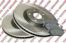Genuine Toyota Yaris Front Brake Discs and & Pads 05-11 43512-0D060/04465-YZZDS