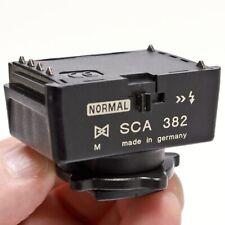 Metz SCA 382 TTL Module - CONTAX & YASHICA 35MM SPEEDLIGHT EXPOSURE CONTROL